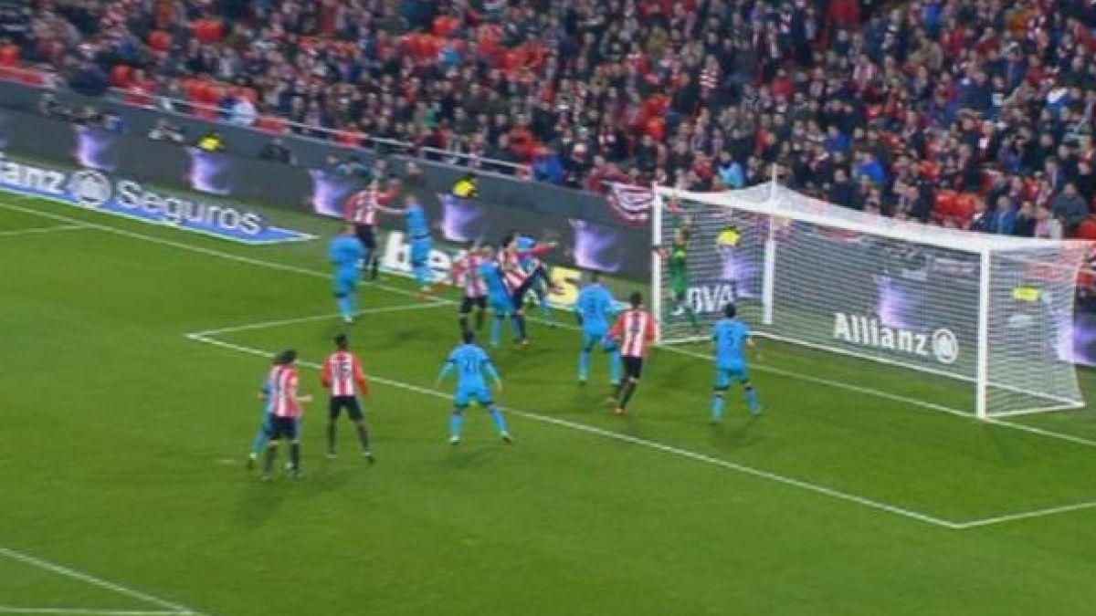 [VIDEO] Ter Stegen evita el empate del Bilbao en el último minuto ante Barcelona