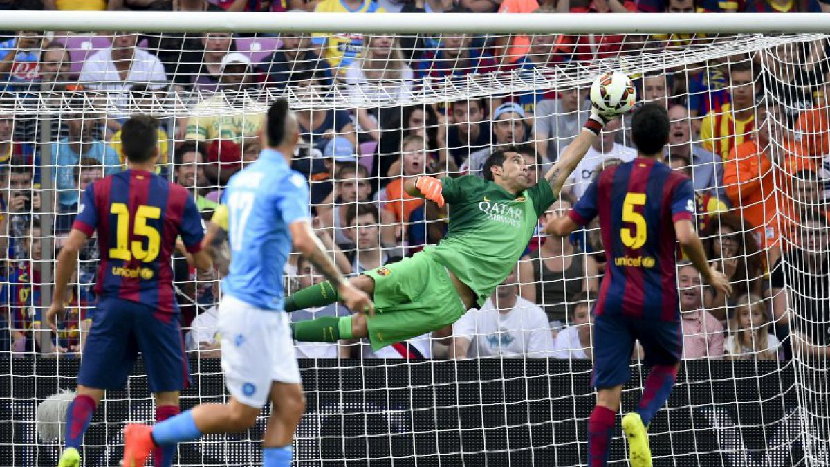 También fue figura: Las tapadas de Bravo que fueron vitales en triunfo del Barcelona