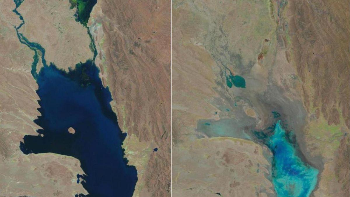 Poopó: Imagen muestra cómo el segundo lago más grande de Bolivia se convirtió en un desierto