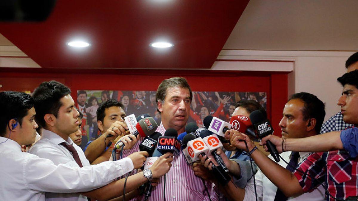 """Vicepresidente de la ANFP avisa: """"El dinero no es impedimento para traer un DT de jerarquía"""