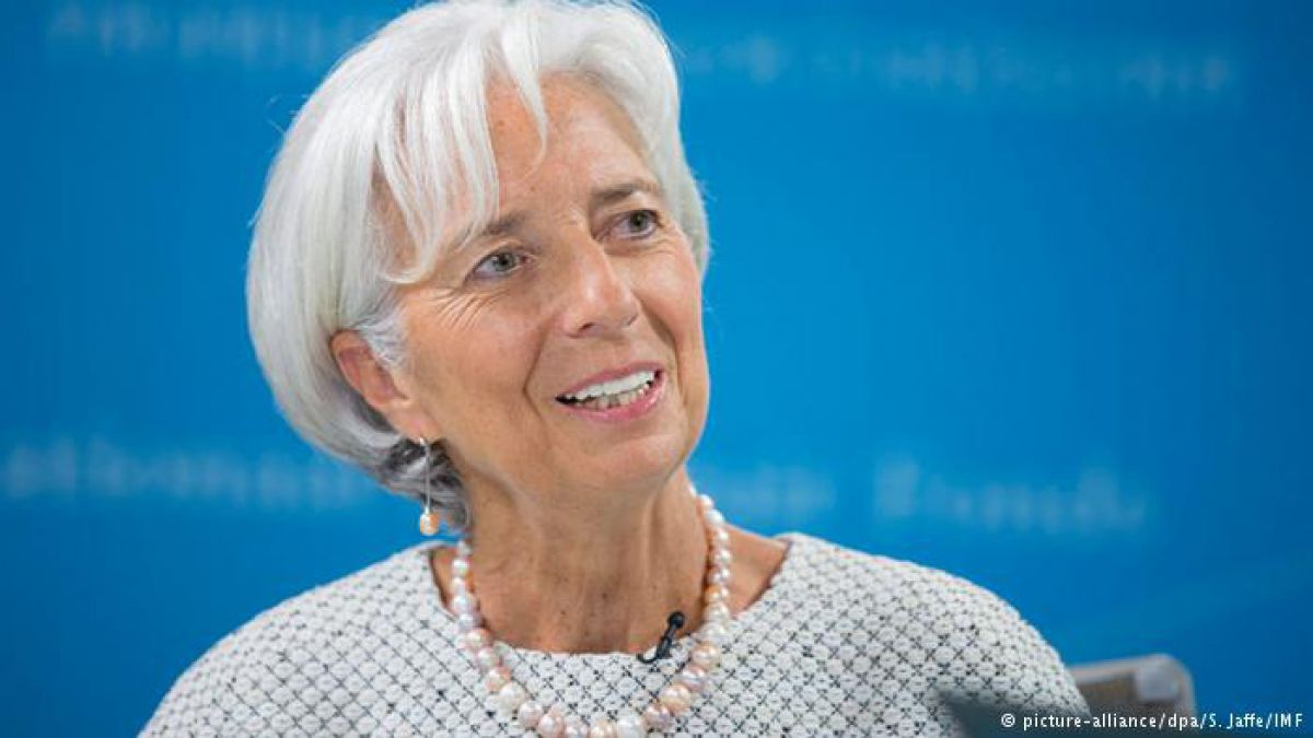 Christine Lagarde volverá a postularse para presidir el FMI