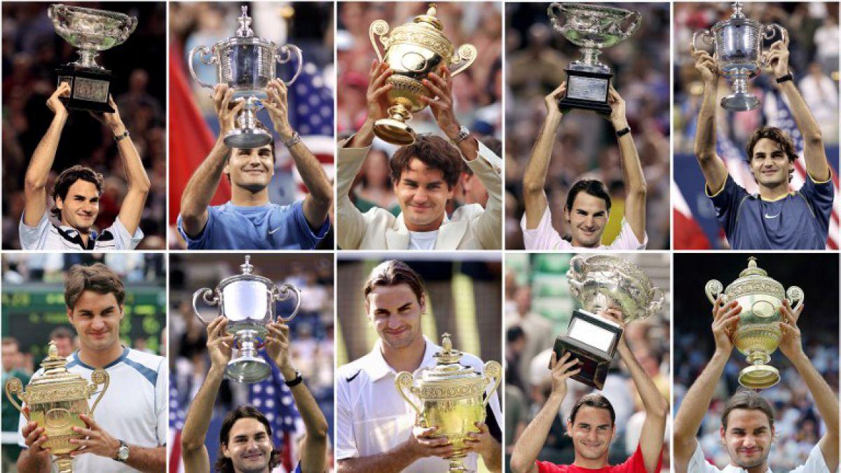 Estos son los impresionantes récord de la carrera de Roger Federer