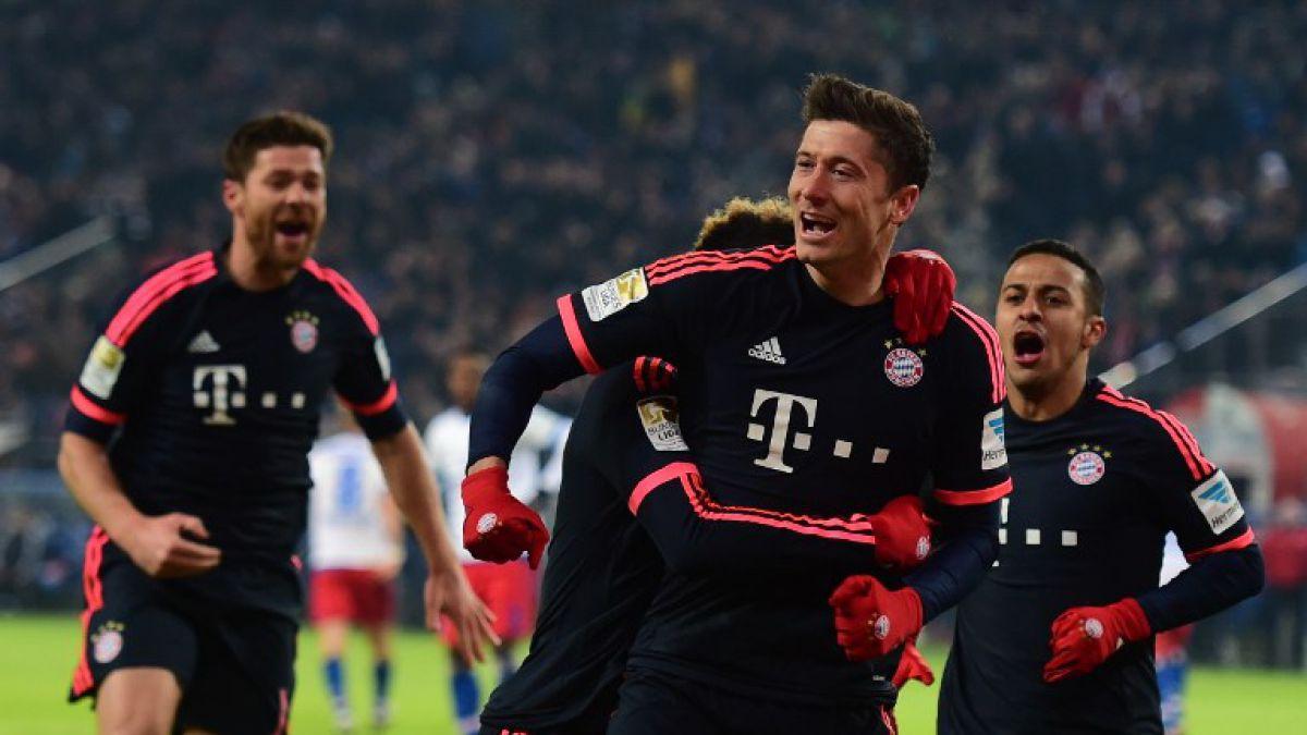 Lewandowski es figura y lleva al Bayern a la victoria con sus dos goles