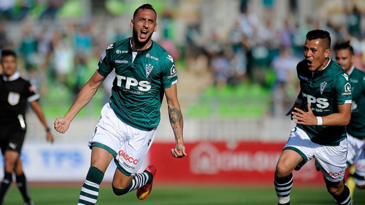 Santiago Wanderers vence a San Luis y se encarama en la cima del Clausura