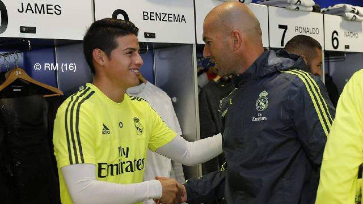 Zidane y supuesta crisis con James Rodríguez: Está preparado para jugar