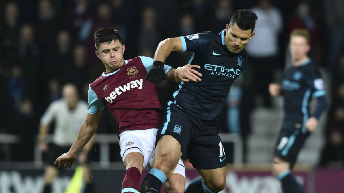 Manchester City de Pellegrini rescata empate ante West Ham y se aleja de la cima de la Premier