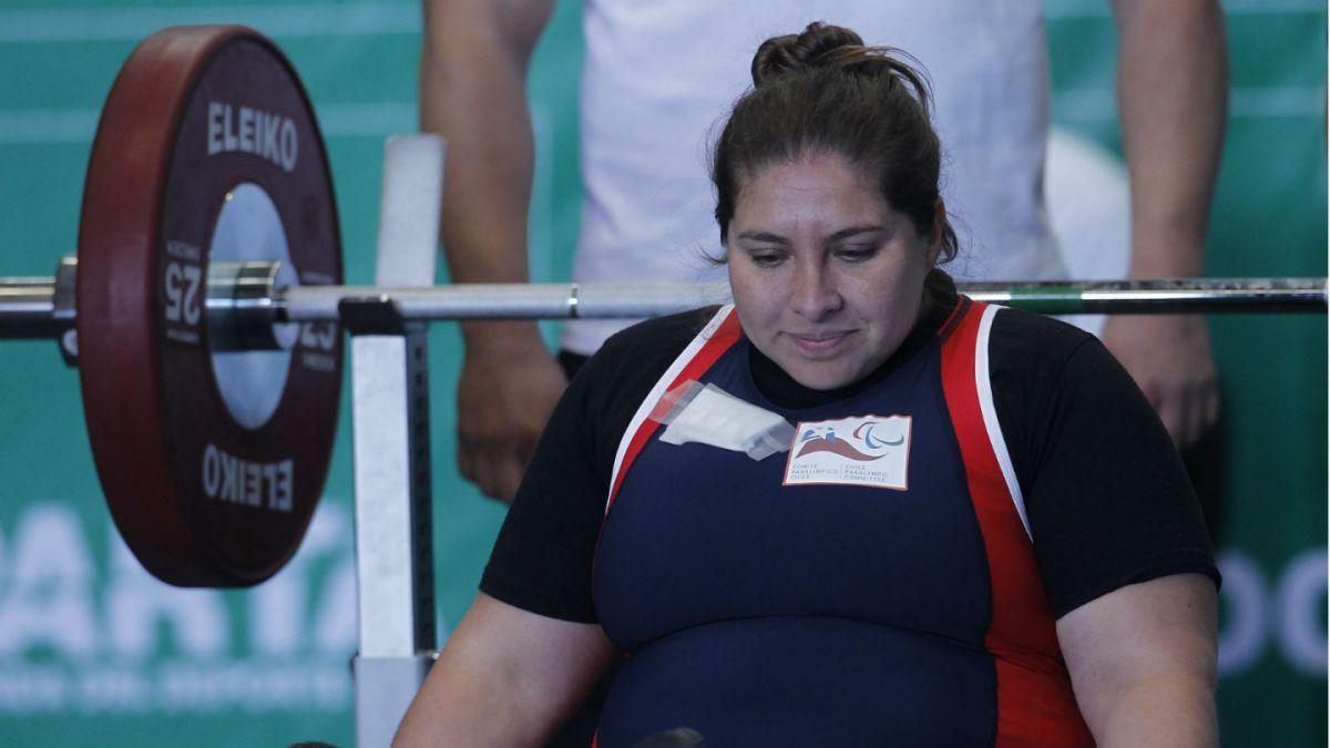 Chile consigue segunda medalla de oro en Mundial Paralímpico de Levantamiento de Pesas