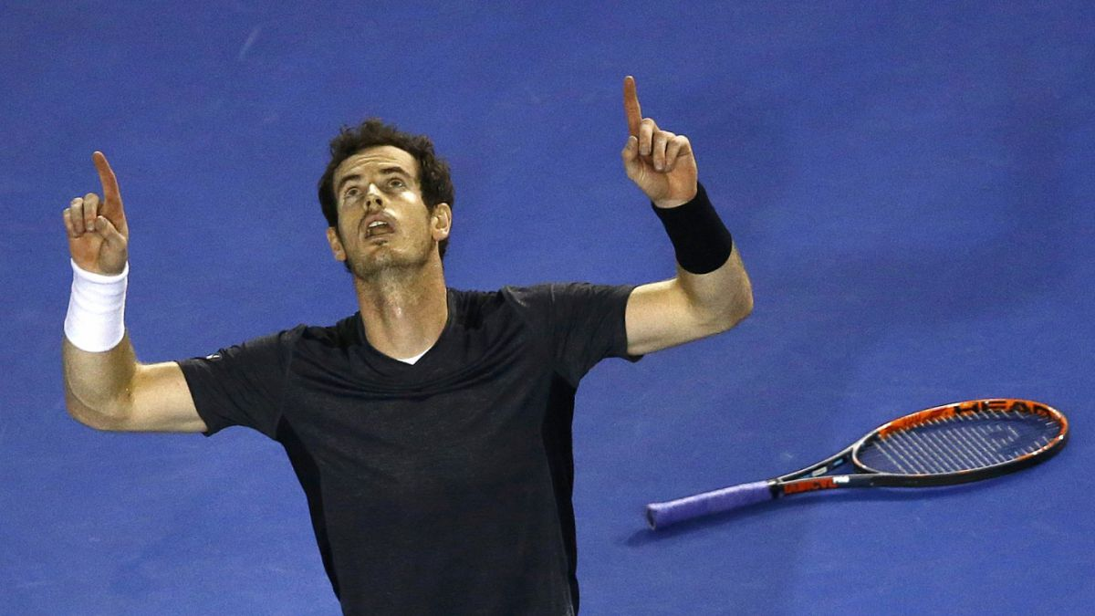 Andy Murray gana en tres sets y está en cuartos de final del Abierto de Australia