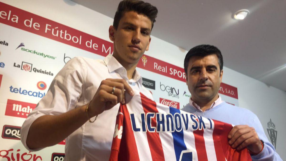 Igor Lichnovsky es presentado oficialmente en el Sporting de Gijón
