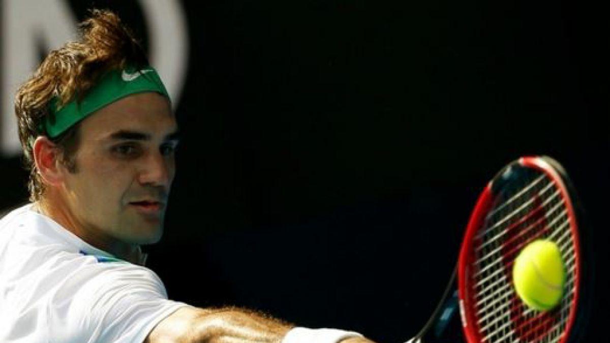 Roger Federer clasificó para las semifinales del Abierto de Australia