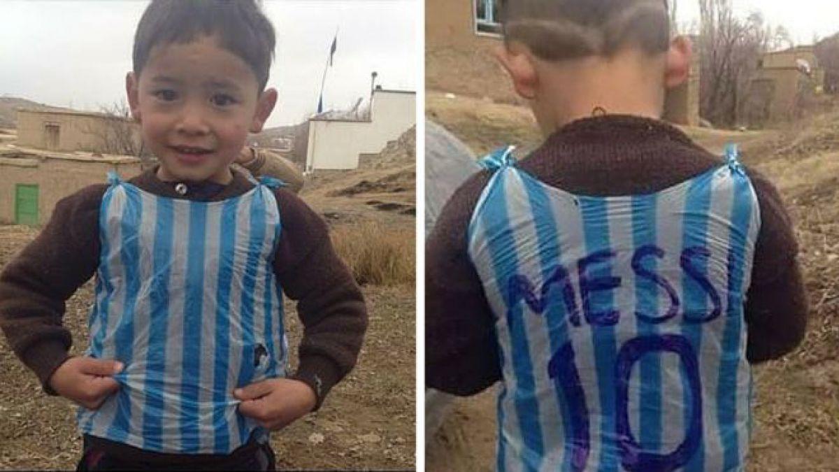 Niño que hizo camiseta de Messi con bolsa de basura podría conocer al ídolo argentino