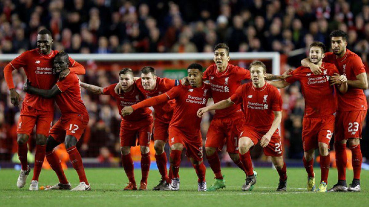 Todo en penales: Liverpool sufrió para llegar a la final de la Copa de la Liga