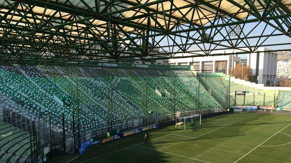 Así responde Panathinaikos a sanción que obliga al club a cerrar sus tribunas