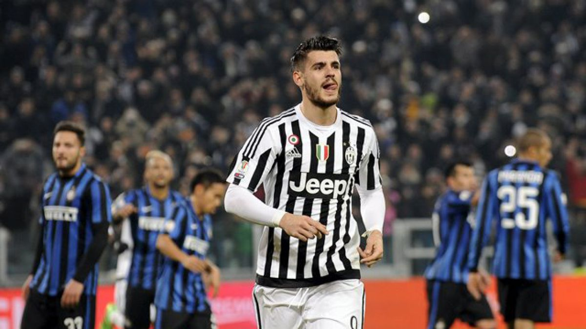 Juventus gana 3-0 a Inter y se acerca a final de Copa de Italia