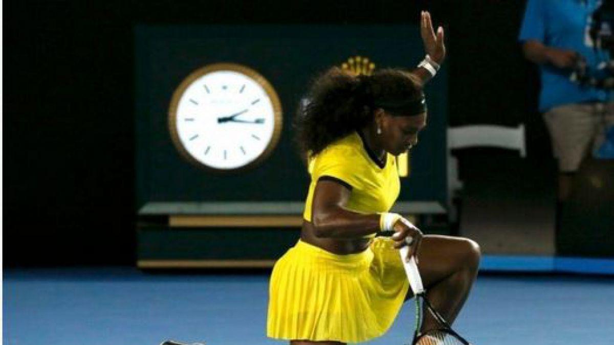 Serena Williams se enfrentará a Kerber en la final de Abierto de Australia