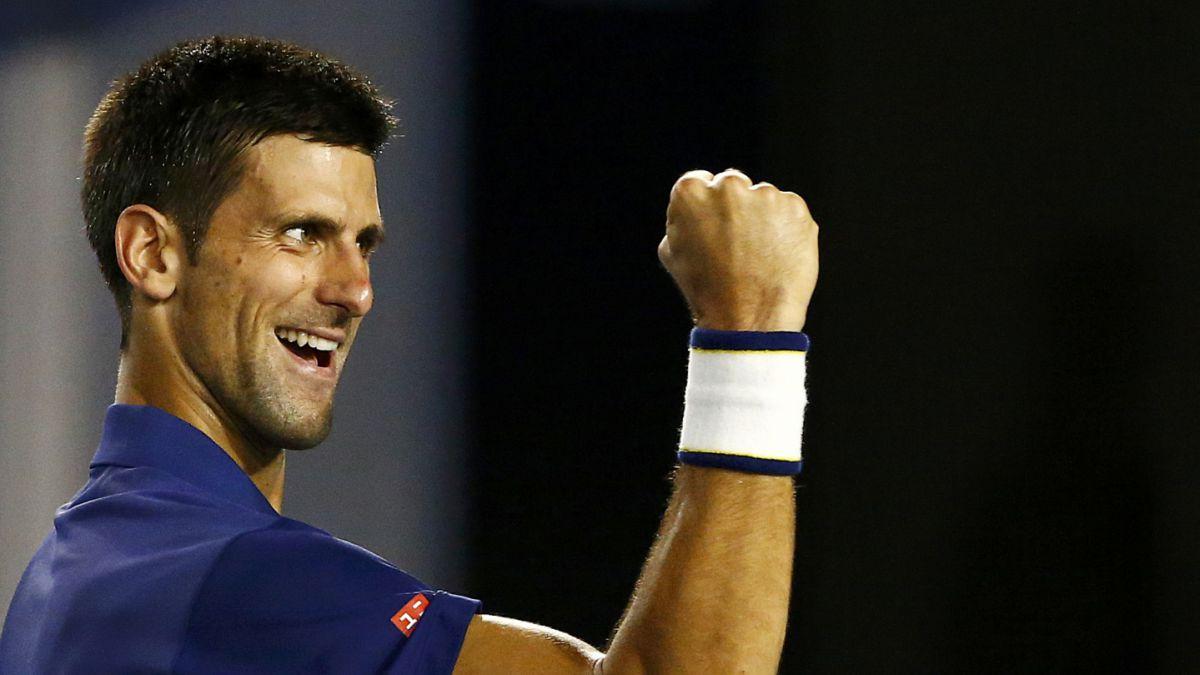 Novak Djokovic es el primer finalista del Abierto de Australia tras vencer a Roger Federer