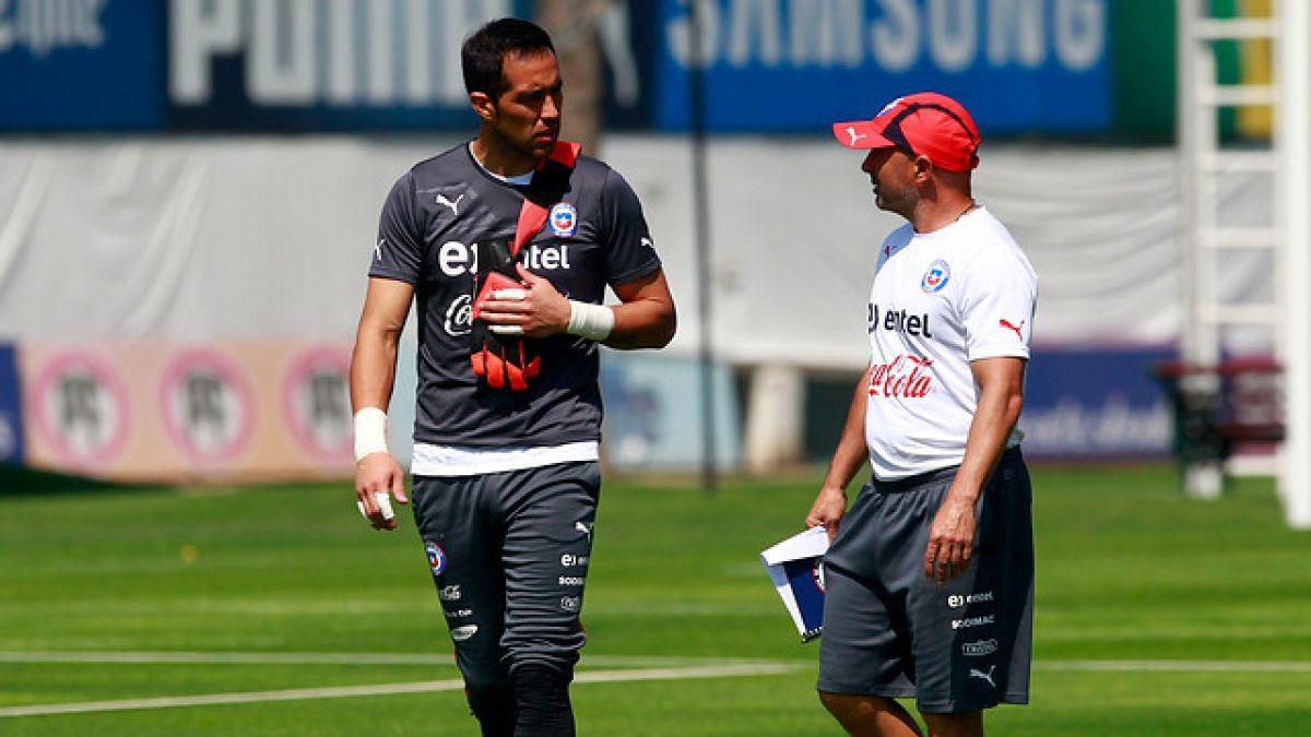 Claudio Bravo y la partida de Jorge Sampaoli: Se va a extrañar, le deseo lo mejor