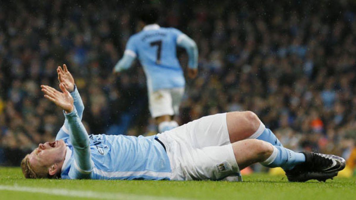 Kevin De Bruyne podría perderse la Eurocopa por lesión en ligamento