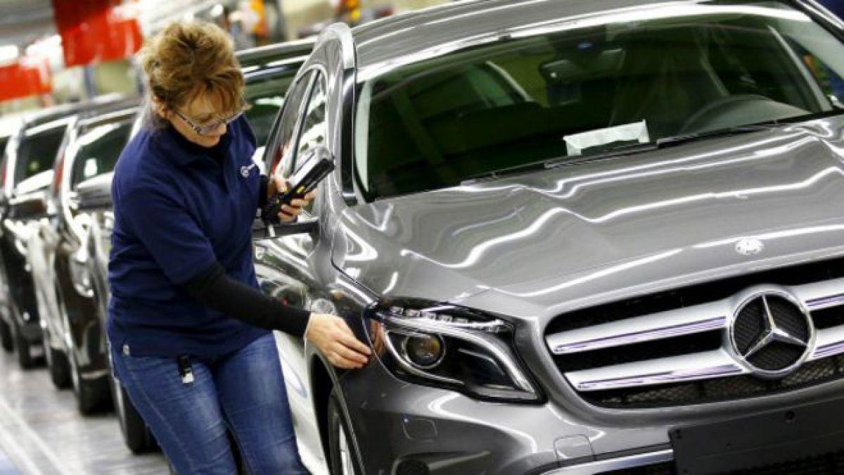 La industria alemana se ha mantenido fuerte.