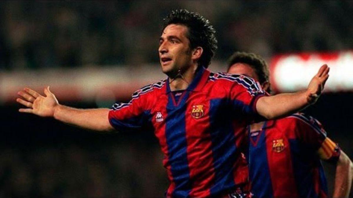 [VIDEO] El día que Juan Antonio Pizzi se convirtió en héroe del Barcelona