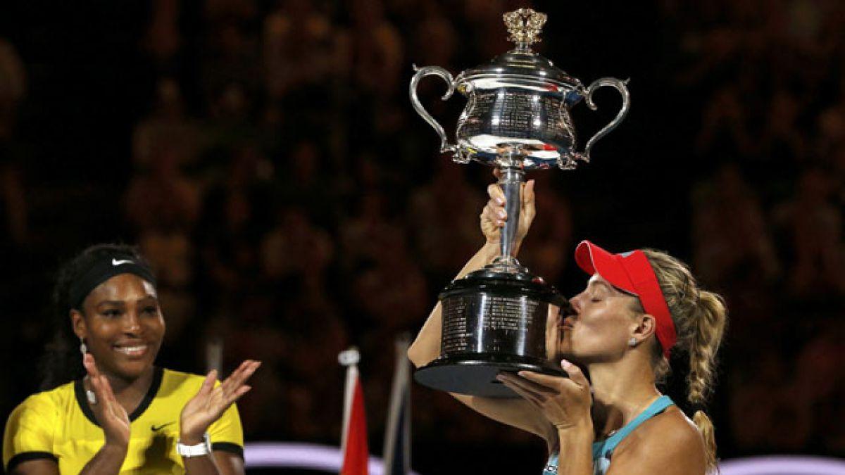 Kerber sorprende a Serena Williams en una espectacular final del Abierto de Australia