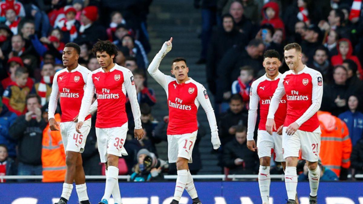 Genio y figura: Alexis Sánchez anotó y dio asistencia en la victoria del Arsenal