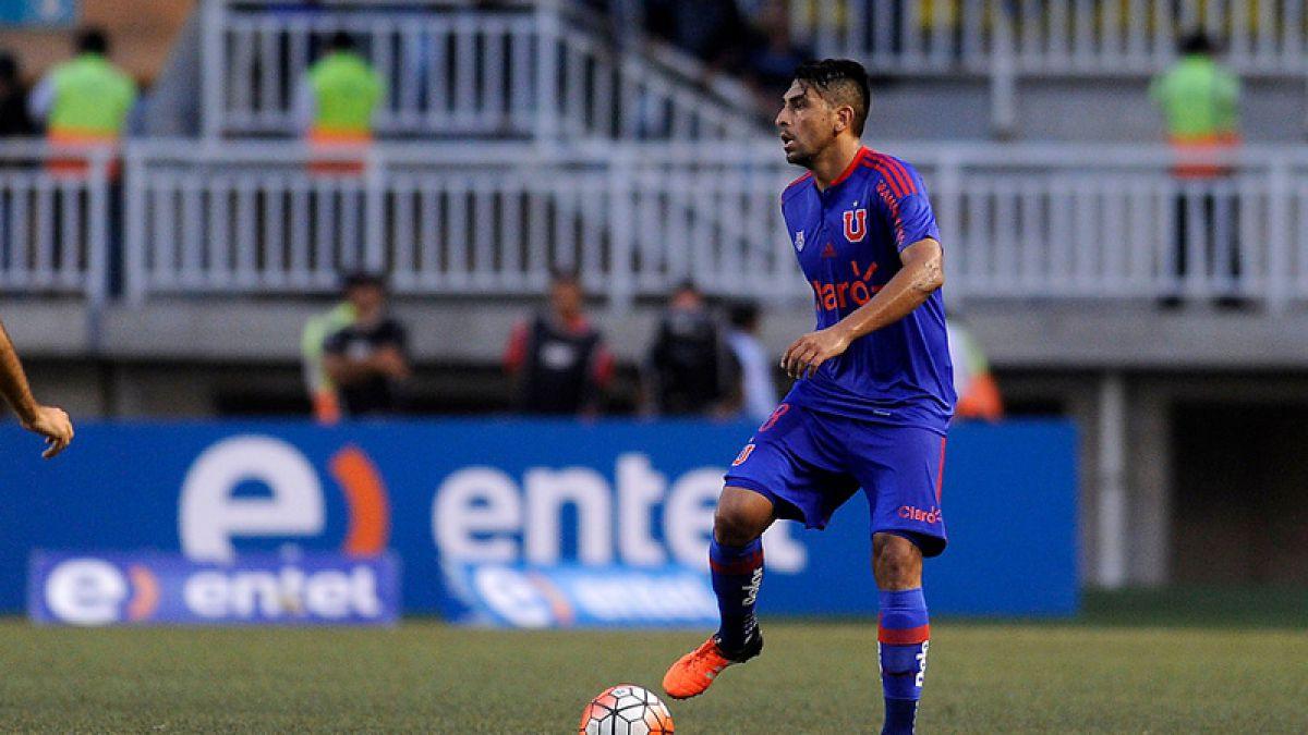 Gonzalo Jara estará 10 días fuera por lesión y se pierde los dos próximos duelos de la U