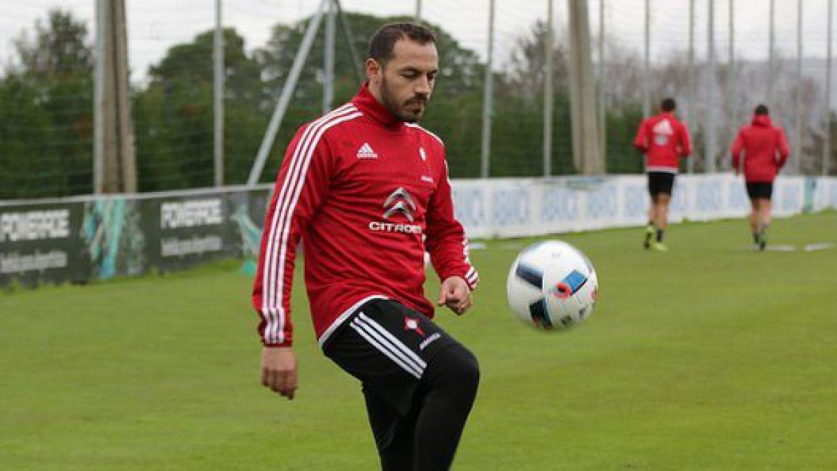 Marcelo Díaz podría debutar con la camiseta del Celta de Vigo