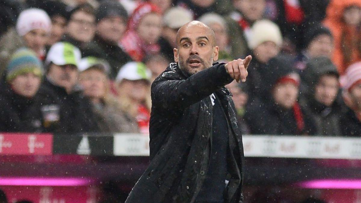 Con un chileno: La oncena que desearía Guardiola al llegar al Manchester City