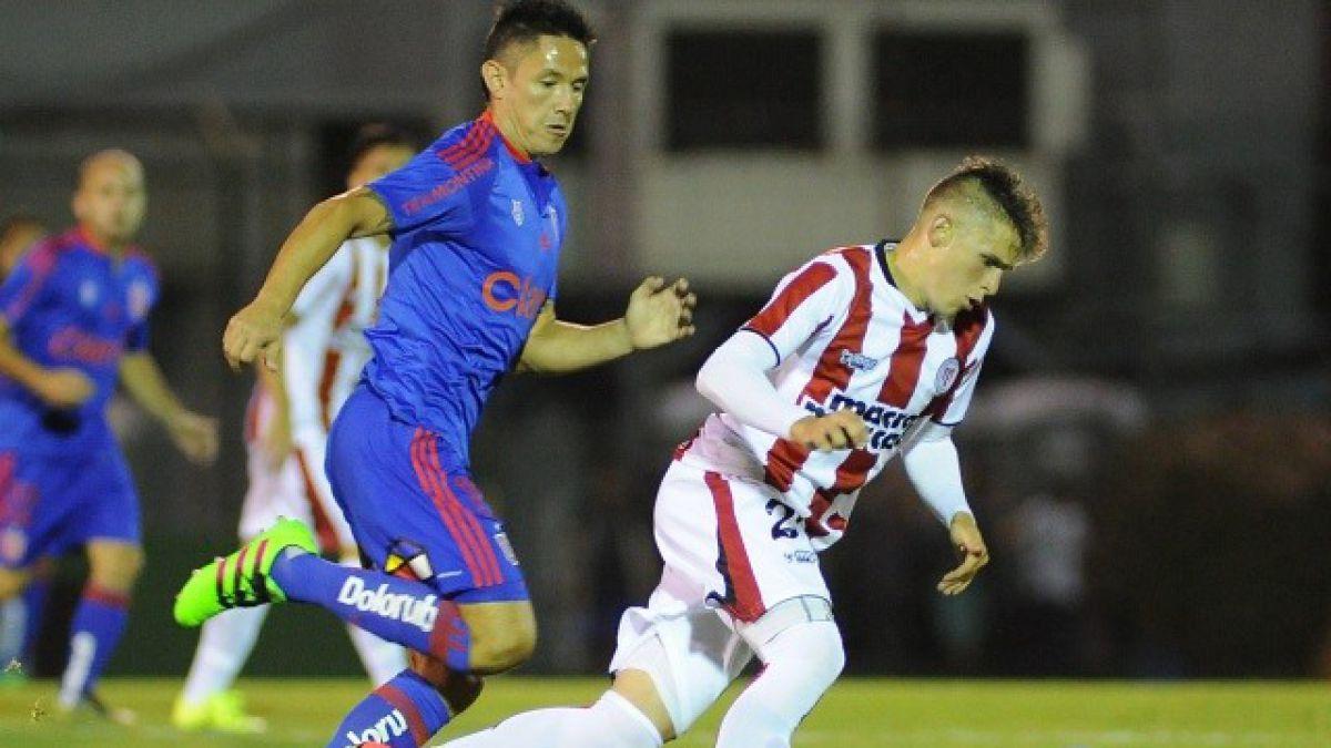 """[MINUTO A MINUTO] La """"U"""" y River Plate de Uruguay están igualando por la Libertadores"""