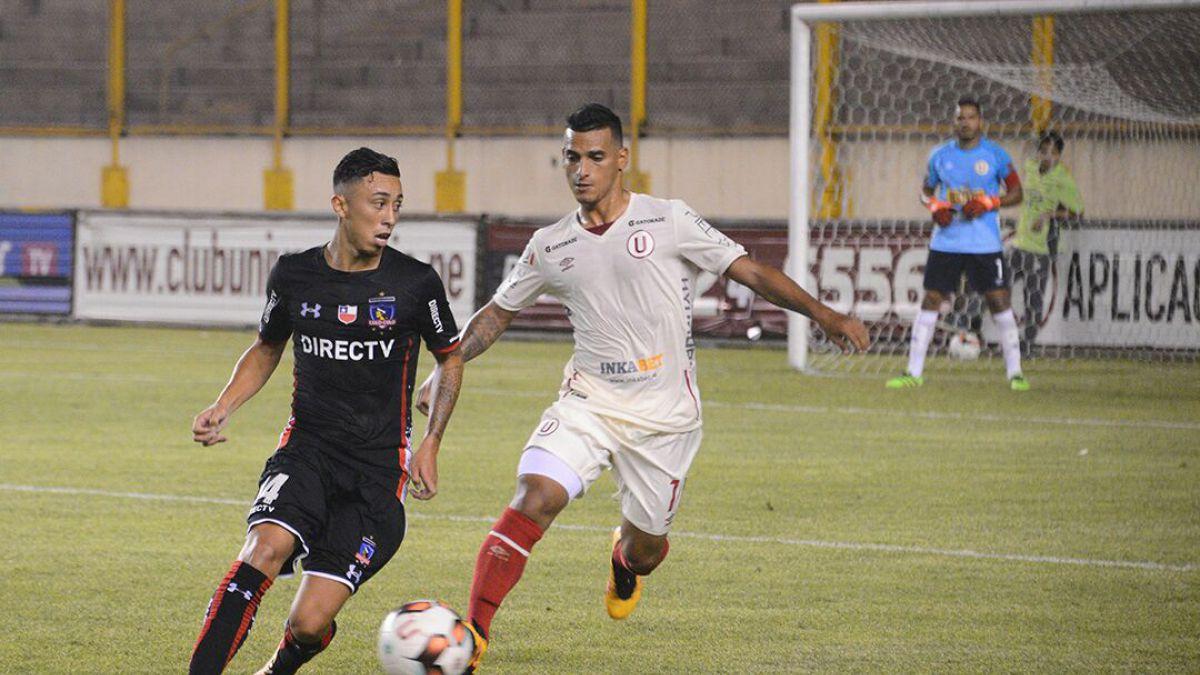 Colo Colo empata en duelo amistoso ante Universitario en Perú