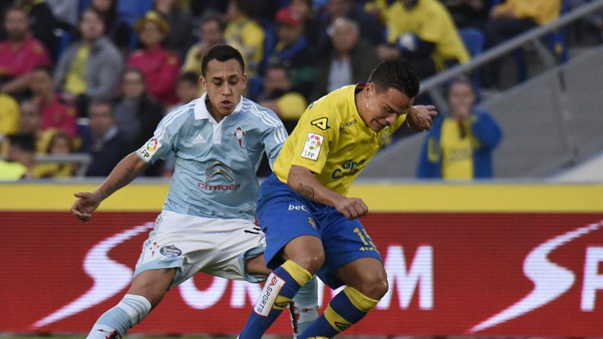 [GOL A GOL] Con tres chilenos en cancha, Celta cae ante el Sevilla por la Copa del Rey
