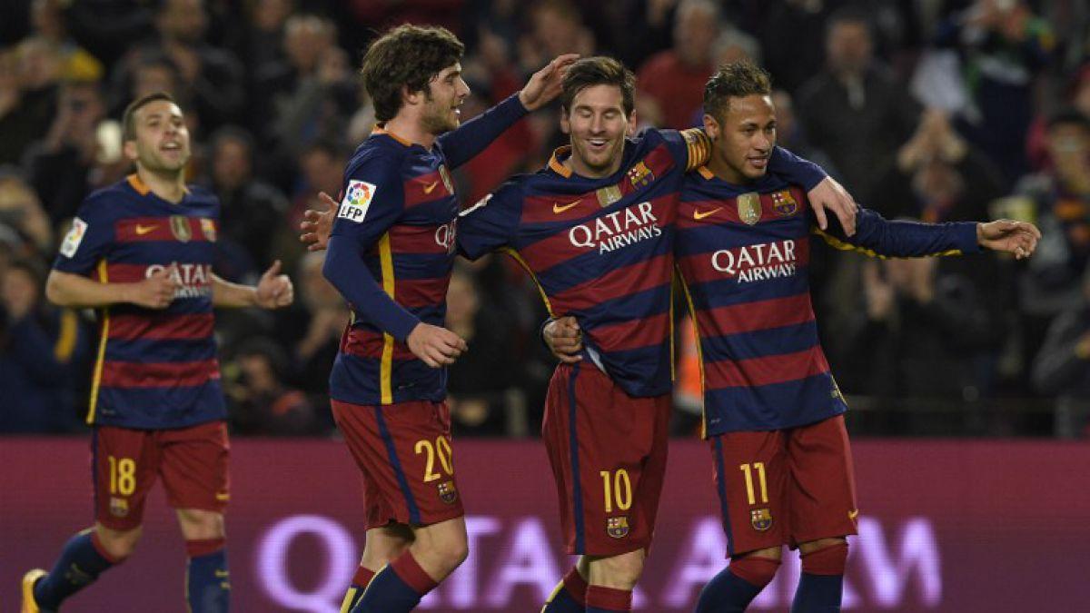 Messi anota triplete en Barcelona y llega a los 500 goles en su carrera