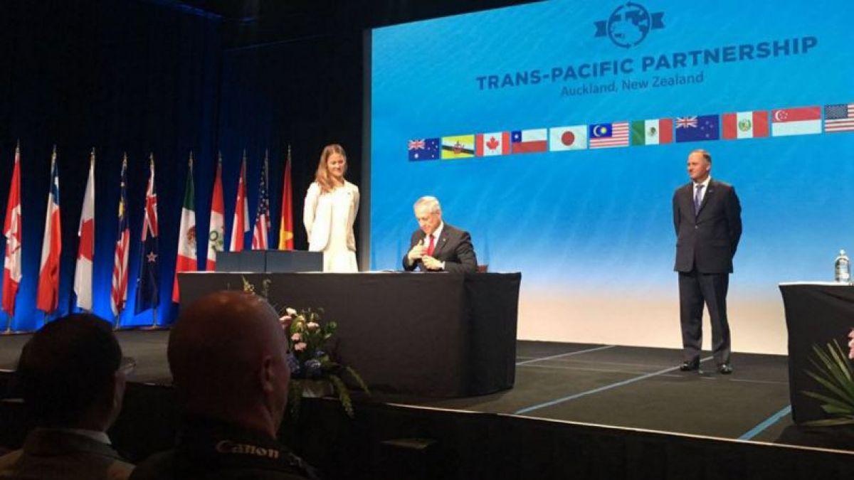TPP: Chile firma el Acuerdo Transpacífico junto a otros 11 países