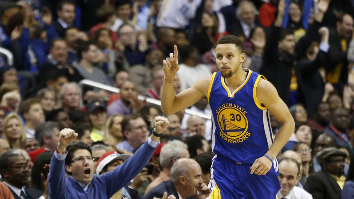 NBA: Stephen Curry lidera el triunfo de Golden State Warriors sobre los Washington Wizards