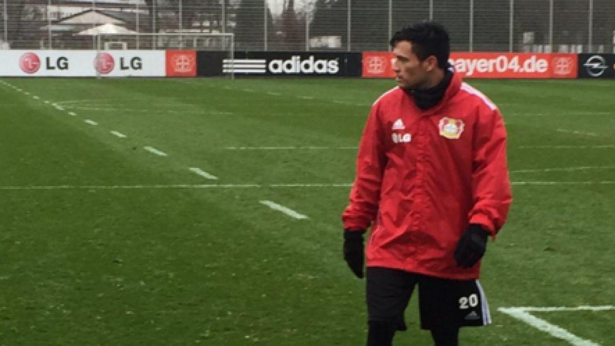 [VIDEO] Charles Aránguiz comienza a retomar los entrenamientos tras grave lesión