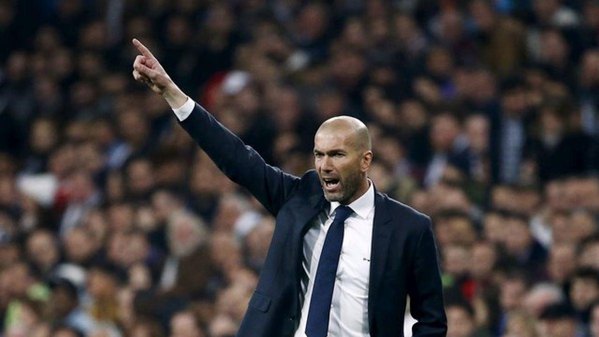 """""""Zizou"""" para rato: Real Madrid oficializa como técnico a Zidane hasta el 2018"""