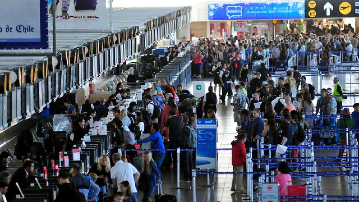 Tráfico aéreo de pasajeros registró un crecimiento de 6,5% en 2015