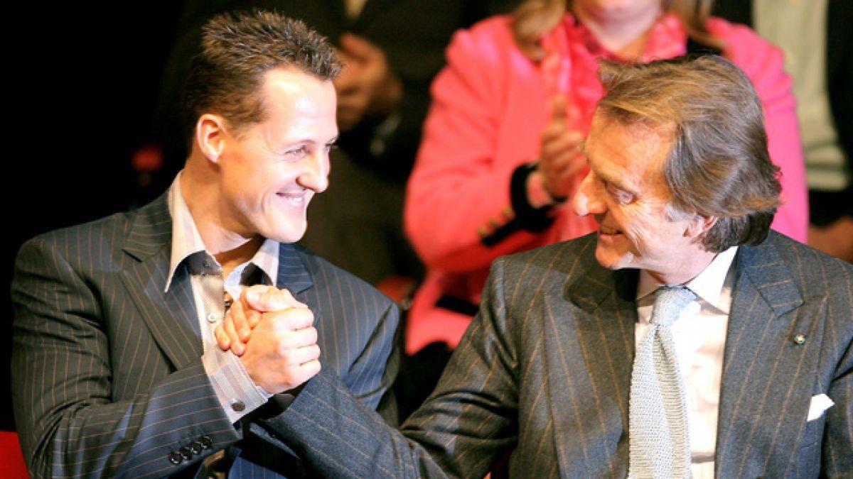 """Ex presidente de Ferrari asegura no tener """"buenas noticias"""" sobre salud de Schumacher"""