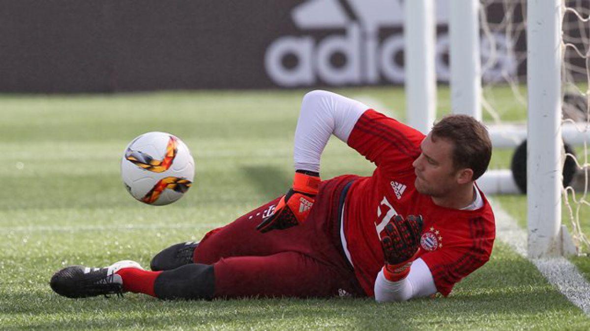 """Arquero Manuel Neuer entrega apoyo a Vidal: """"En cada duelo hace la diferencia"""""""