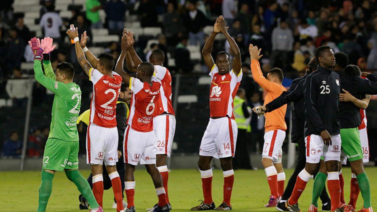 Cobresal espera: Santa Fe vapulea a Oriente Petrolero en Copa Libertadores