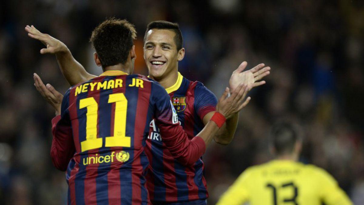 Alexis Sánchez y su amistad con Neymar: Le envía mensaje en el día de su cumpleaños