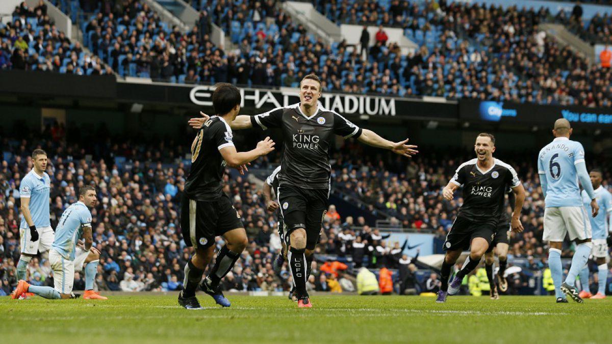 City de Pellegrini es apabullado por el sorprendente Leicester en la Premier