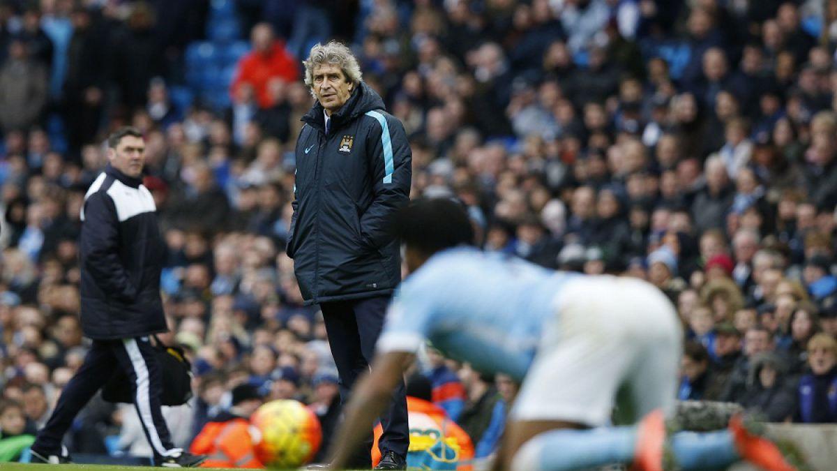 Pellegrini tras caída: Felicita al Leicester y apunta al bajo nivel del Manchester City