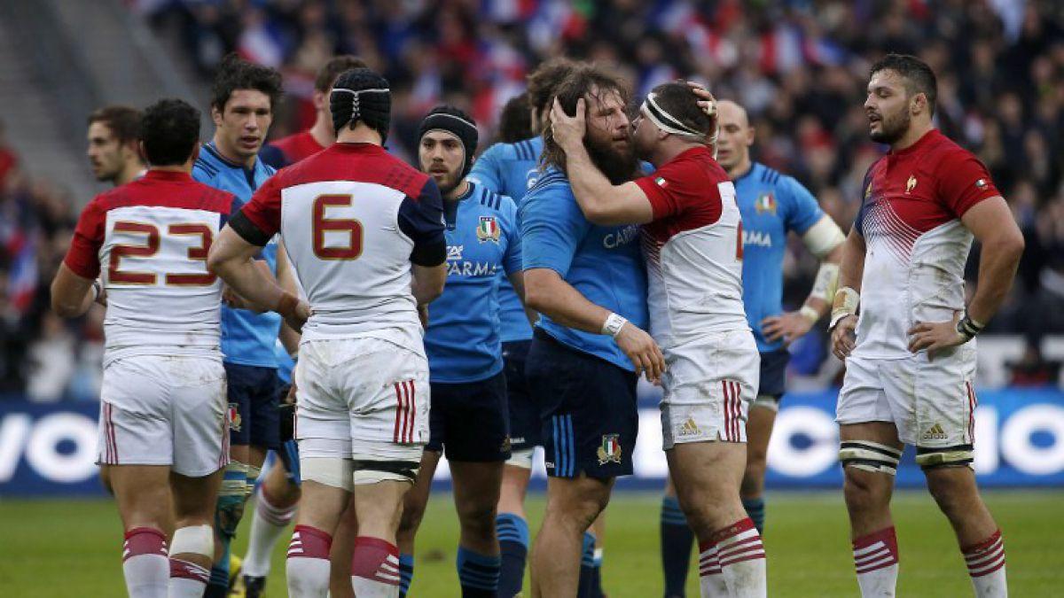 Francia se estrena en el Seis Naciones de rugby con un sufrido triunfo ante Italia