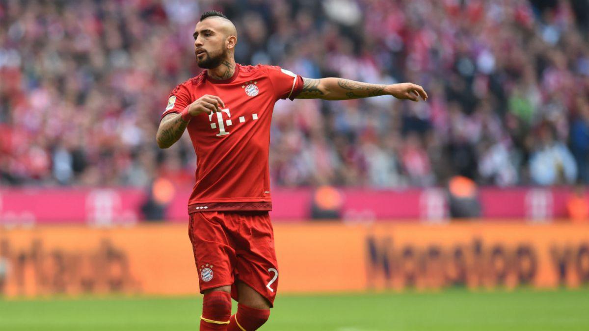 Bayern Munich anuncia que medios alemanes se retractaron por acusaciones contra Vidal