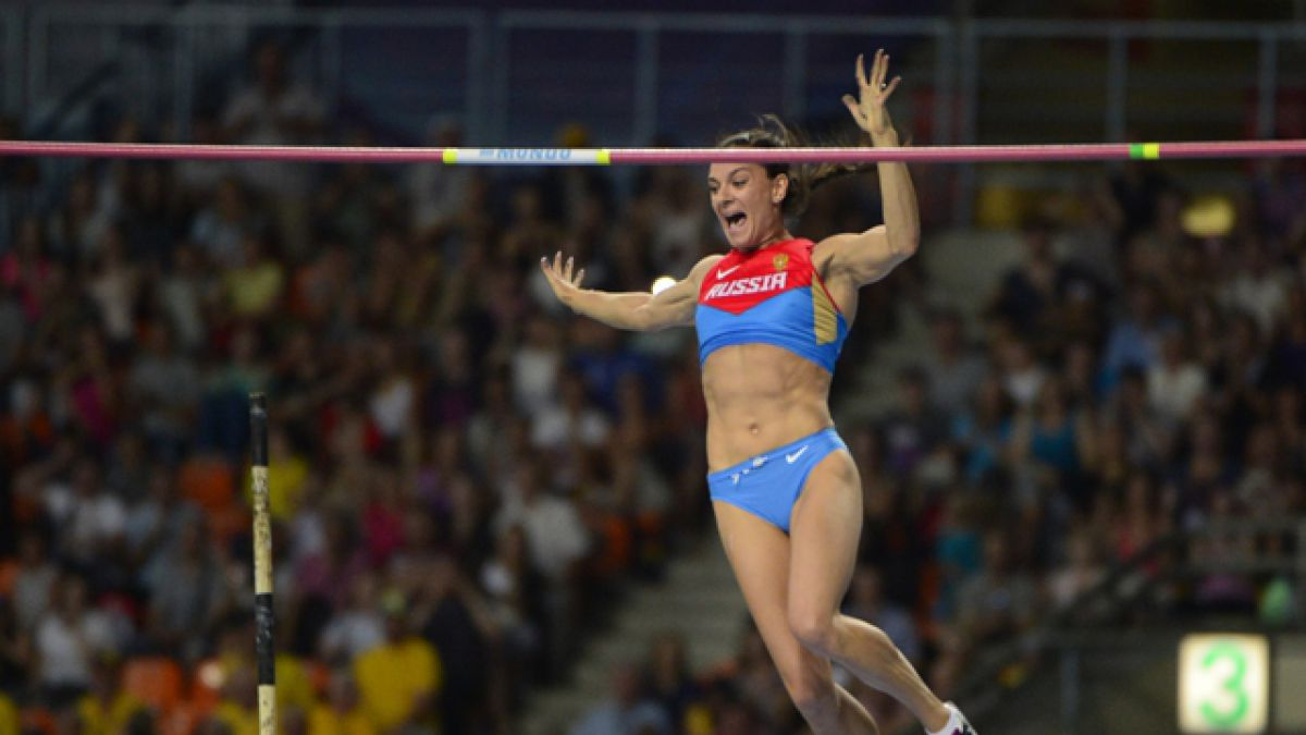 Isinbayeva renuncia por lesión a la temporada en pista cubierta