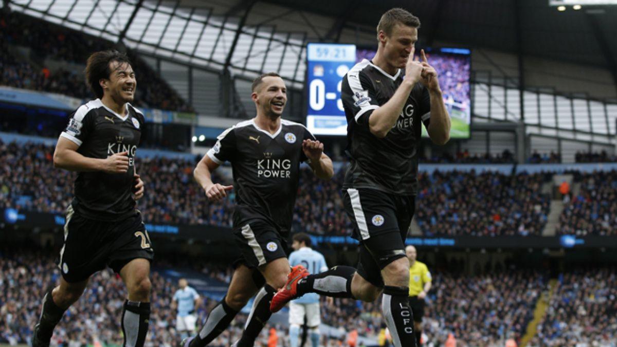 A dos puntos del récord: los números del sorprendente Leicester en la Premier League