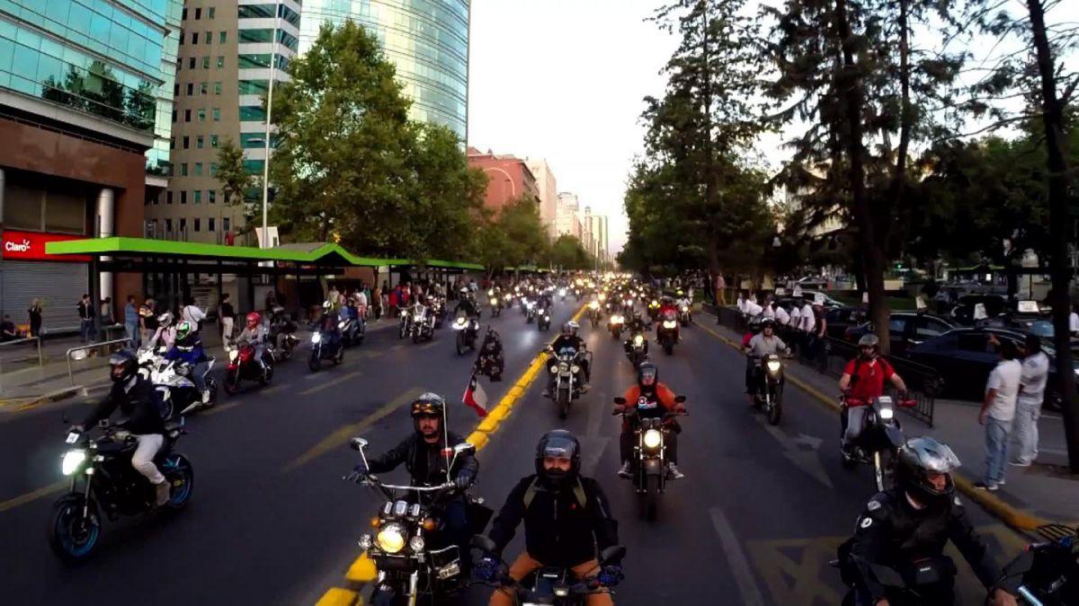 Motociclistas se manifestarán por segunda vez contra la restricción vehicular permanente