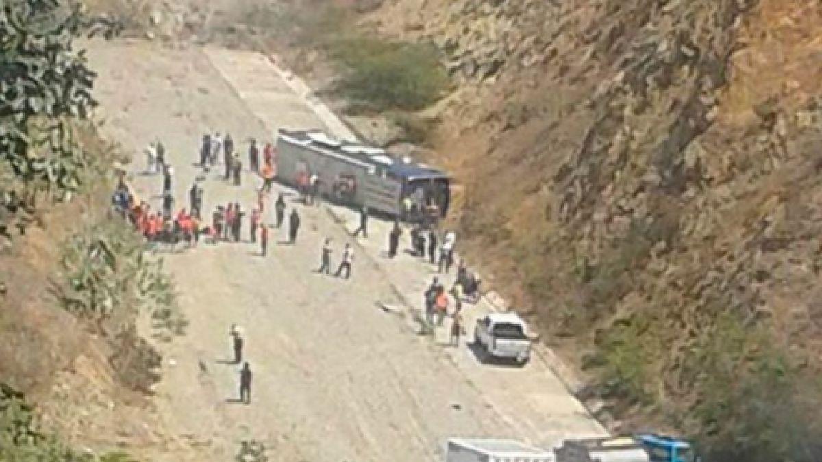 Presidente de Huracán y accidente: El bus se quedó sin frenos, pero no pasó a mayores
